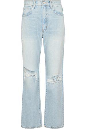 SLVRLAKE Jeans rectos London cropped