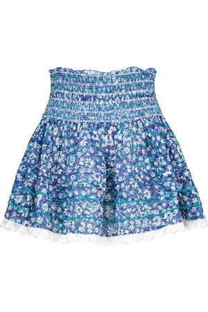 POUPETTE ST BARTH Exclusivo en Mytheresa – minifalda Galia de algodón floral