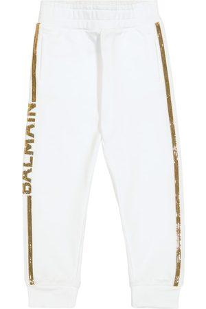 Balmain Pantalones de chándal de algodón