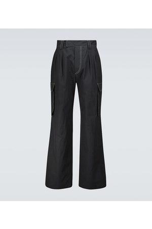 Nanushka Pantalones cargo Nolan de algodón