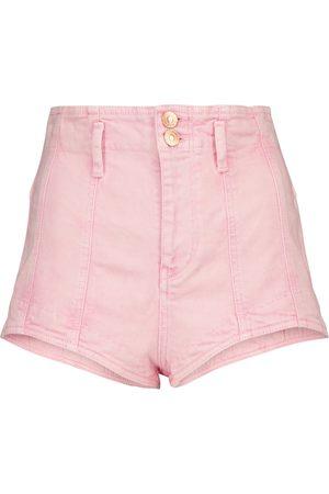 Isabel Marant Shorts Deverson de jeans