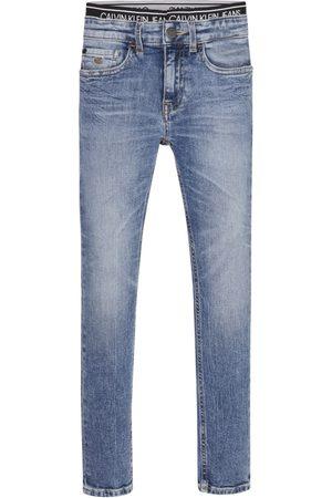 Calvin Klein Jeans SKINNY VINTAGE LIGHT BLUE para niño