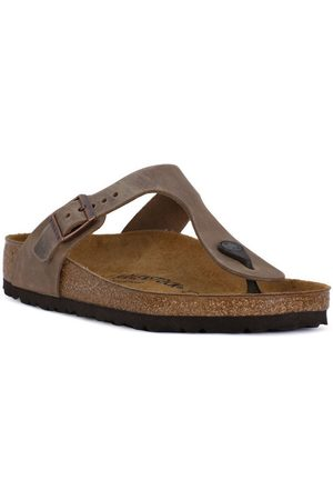 Birkenstock Chanclas GIZEH BROWN OILED para mujer