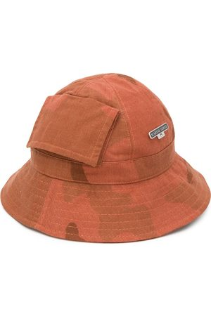 Marine Serre Mujer Sombreros - Sombrero de pescador estampado