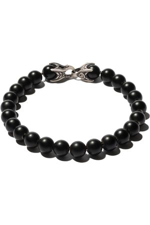 David Yurman Pulsera Spiritual Beads con ónix negro