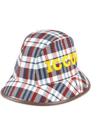 Gucci Sombrero fedora ICCUG a cuadros