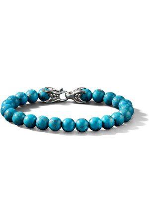 David Yurman Pulsera Spiritual Beads con turquesas
