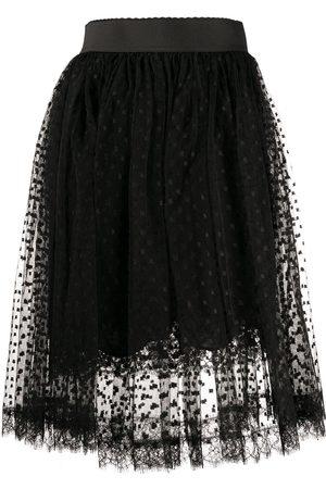 Dolce & Gabbana Falda midi con pliegues