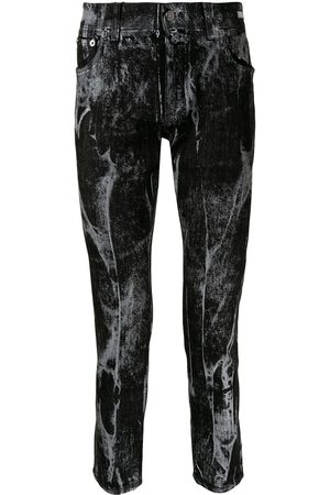 Dolce & Gabbana Vaqueros skinny con efecto jaspeado