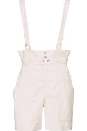Isabel Marant Shorts Effie en mezcla de lino