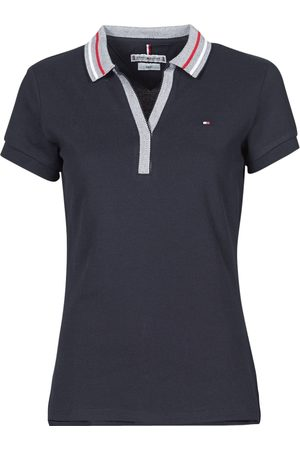 Tommy Hilfiger Polo SLIM TIPPING POLO SS para mujer