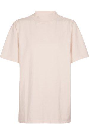 Les Tien Camiseta de punto fino de algodón