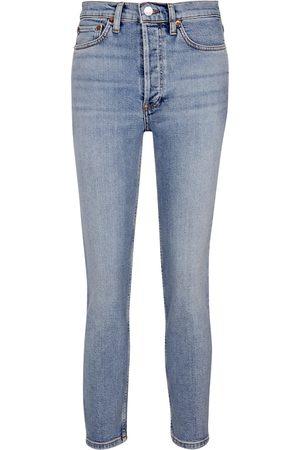 RE/DONE Jeans ajustados de tiro alto