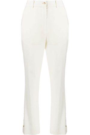 Loulou Studio Pantalones Marion de talle alto