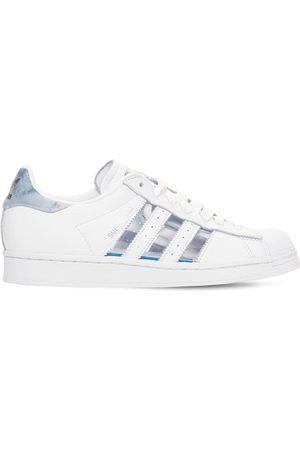 """ADIDAS ORIGINALS Mujer Zapatillas deportivas -   Mujer Sneakers """"superstar"""" De Piel Con Transparencias /transp 3.5"""