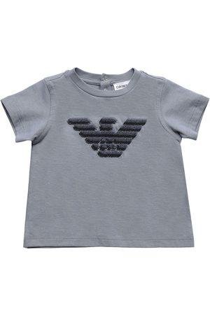 Emporio Armani Niña Camisetas -   Niña Camiseta De Jersey De Algodón 3a