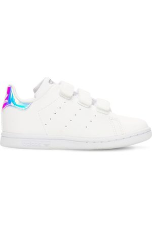 "ADIDAS ORIGINALS | Niña Sneakers ""stan Smith"" Con Correas 27"
