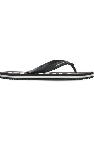 Palm Angels | Hombre New Rubber Flip Flops /blanco 39