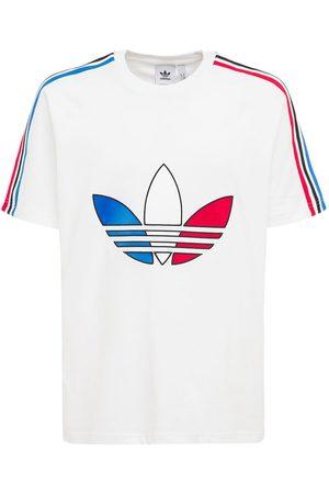 adidas | Hombre Camiseta De Algodón Jersey Con Trébol Tricolor Xs