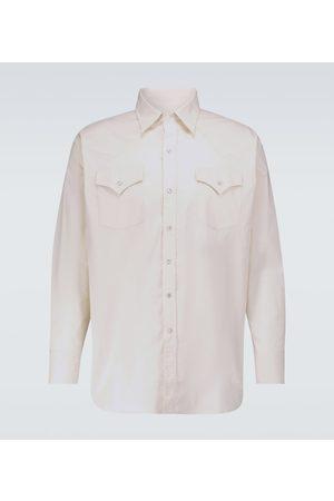 WINNIE N.Y.C Camisa de algodón estilo Western