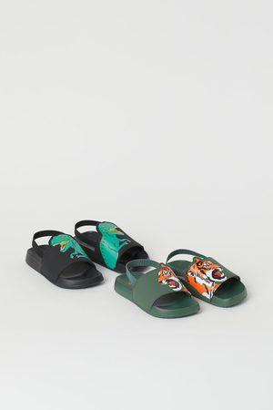 H&M Niño Shorts de baño - 2 pares de zapatillas de baño