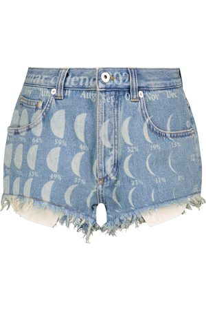 Loewe Paula's Ibiza shorts de jeans