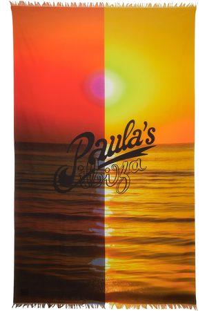 Loewe Paula's Ibiza pañuelo de algodón estampado