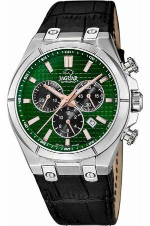 Jaguar Reloj analógico J696/3, Quartz, 44mm, 10ATM para hombre