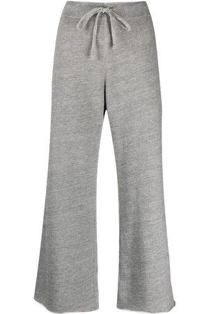 NILI LOTAN Pantalones joggers con bordes sin rematar