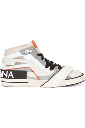 Dolce & Gabbana Hombre Zapatillas deportivas - Zapatillas a paneles con parche del logo