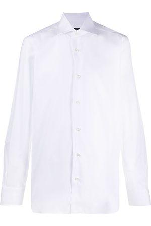 BARBA Hombre De vestir - Camisa de vestir con cuello italiano
