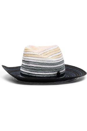 Le Mont St Michel Mujer Sombreros - Sombrero fedora con efecto degradado