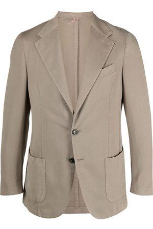 DELL'OGLIO Hombre Blazers - Blazer ajustado con botones