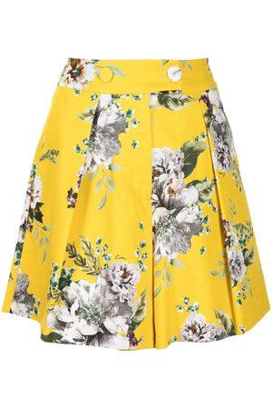 Erdem Pantalones cortos con estampado floral