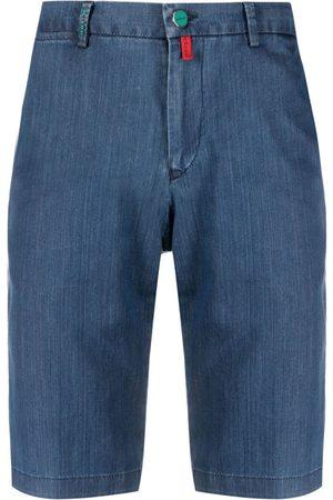 Kiton Pantalones vaqueros cortos de vestir
