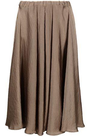 BLANCA Mujer Midi - Falda midi de talle alto