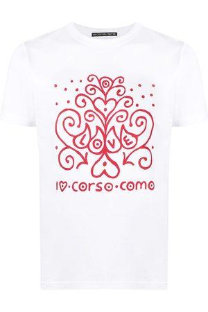10 CORSO COMO Sin mangas - Camiseta con logo estampado