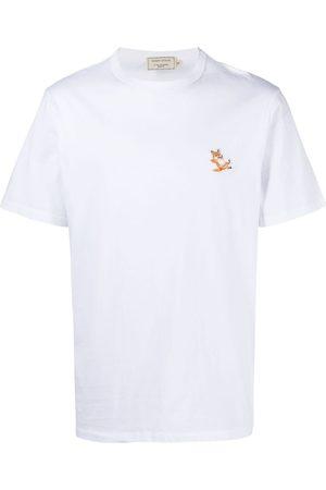 Maison Kitsuné Camiseta con detalle del logo