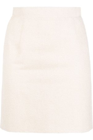 LOULOU Falda de cintura alta de tweed