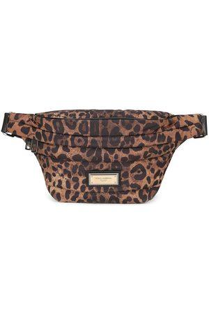 Dolce & Gabbana Riñonera con motivo de leopardo