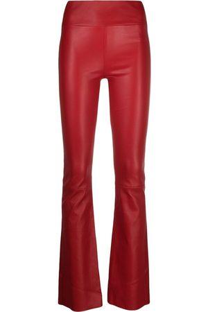 SYLVIE SCHIMMEL Mujer Pantalones de talle alto - Pantalones bootcut de talle alto