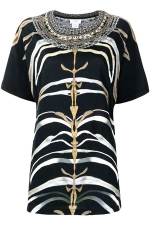 Camilla Camiseta con estampado de cebra