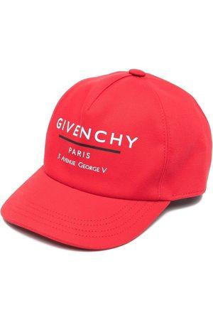 Givenchy Gorra con logo estampado