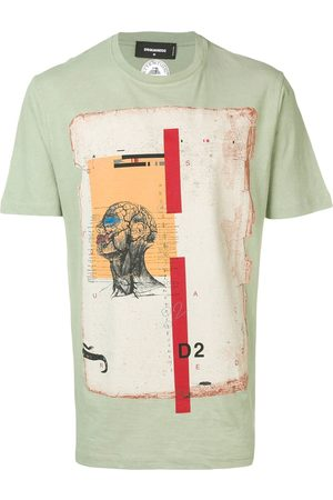 Dsquared2 Camiseta con estampado de anatomía