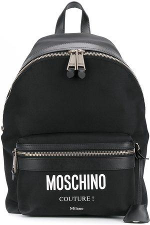 Moschino Mochila con logo estampado