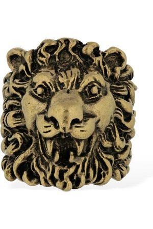 "Gucci Mujer Anillos - | Mujer Anillo Grueso ""lionhead"" 19"