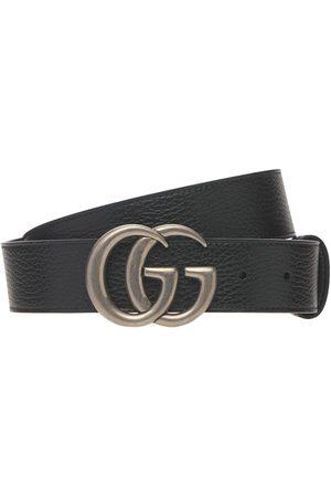 "Gucci | Hombre Cinturón ""gg Marmont"" Reversible 4cm /café 80"