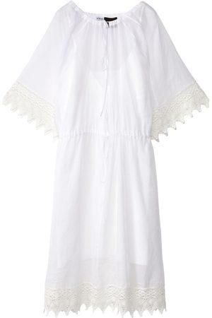 Loewe Mujer Vestidos - | Mujer Vestido De Organdí Y Macramé Transparente 34