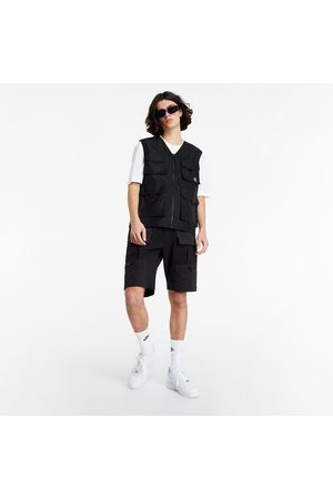 Calvin Klein Recycled Polyester Utility Vest Black