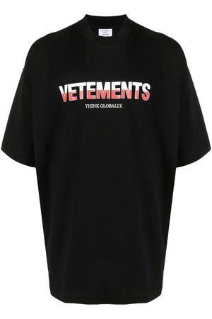 Vetements Camiseta con logo estampado